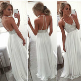 Angel Tree Prom Dresses 2018 Long Chiffon Boho Halter Sexy Back Formal Evening Gown Graduation Party Dress