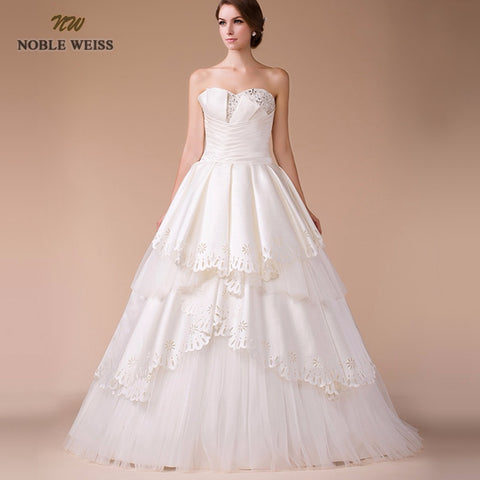 Sweetheart Princess Wedding Dresses Tiered Beading Ball Gown Real Photo Cheap Vintage Plus Size Bridal Dress Vestido de Noiva