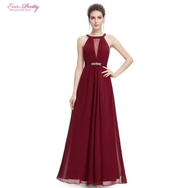 Evening Dress Elegant Ever Pretty Sleeveless A Line Sleeveless