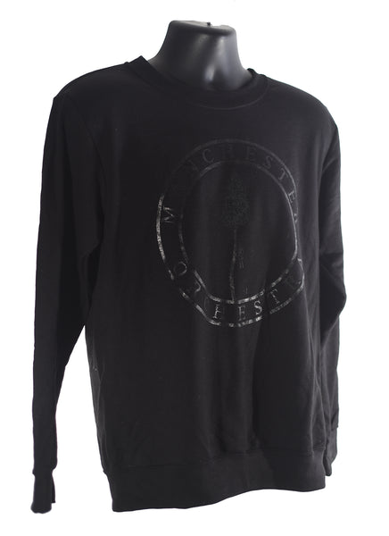 Black on Black Mile Crew Sweatshirt