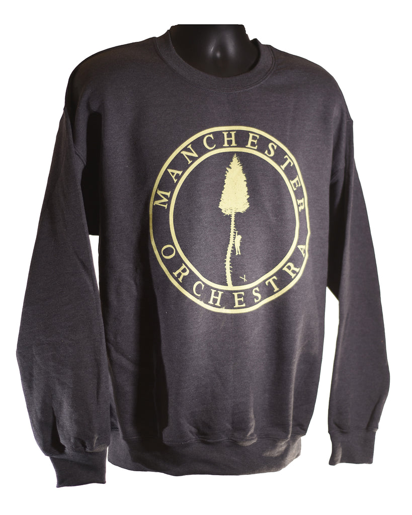 Heather Grey Black Mile Sweatshirt