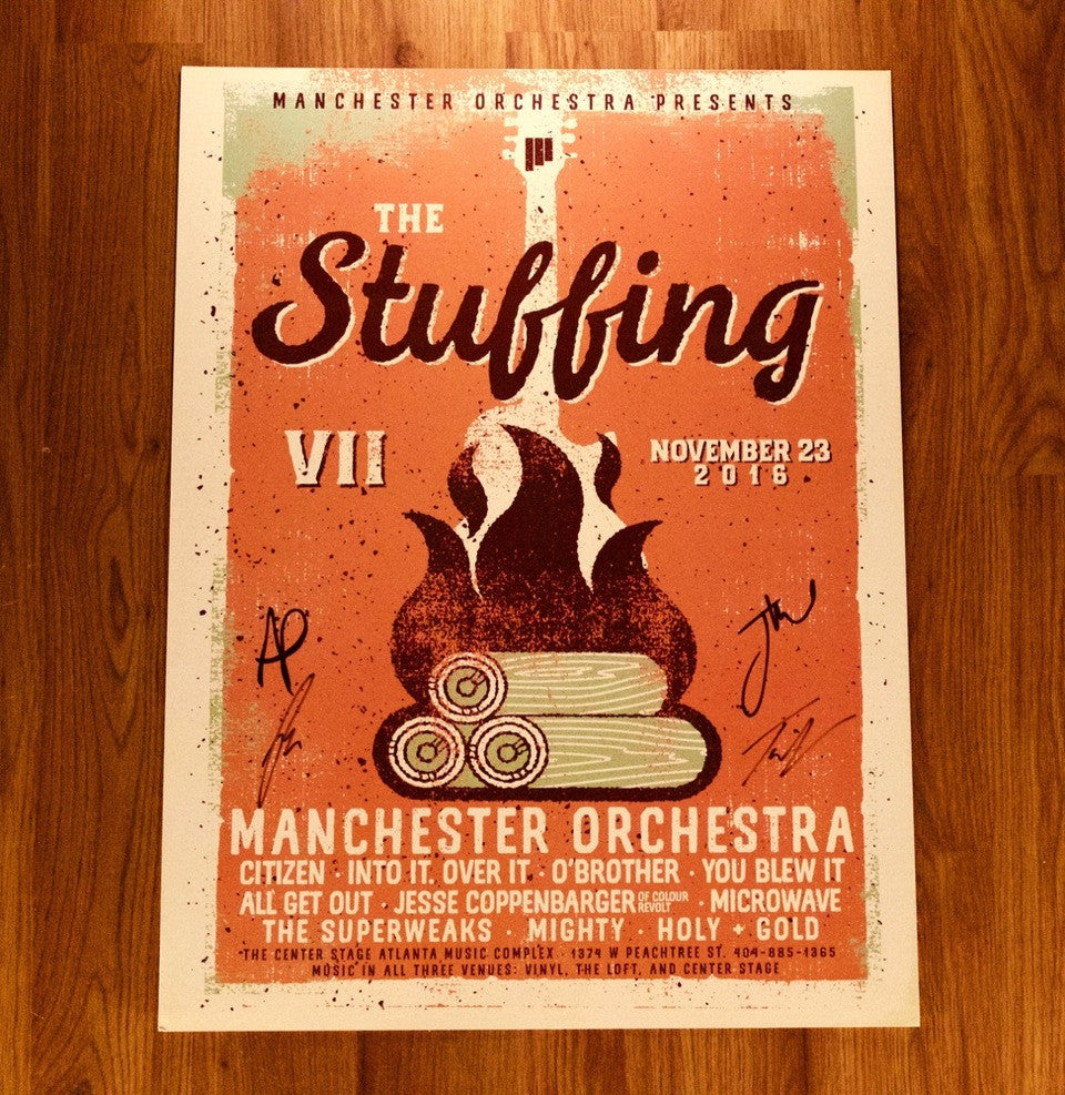 Signed Stuffing Poster (2016)
