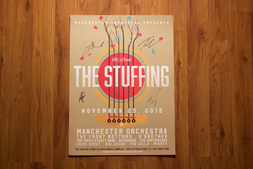 Signed Stuffing Poster (2015)