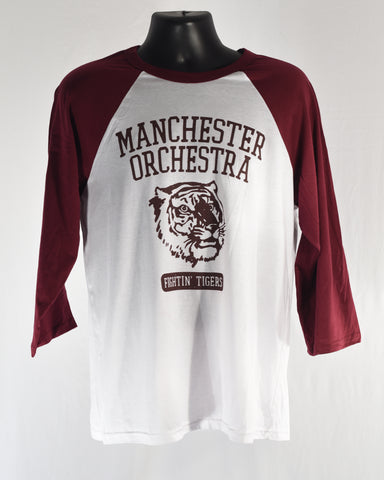 Maroon Tony Fightin' Tigers Baseball T-shirt