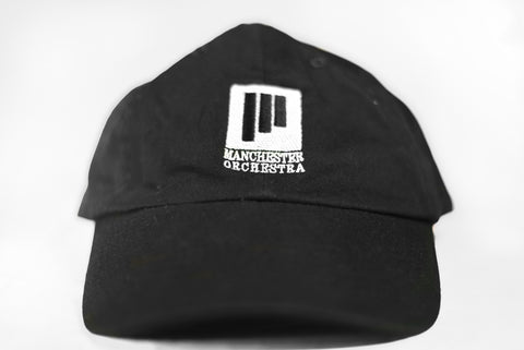 Black Lines Dad Hat