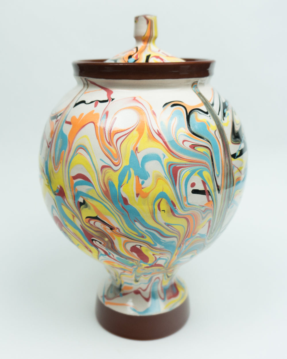 Psychedelic Funerary Urn