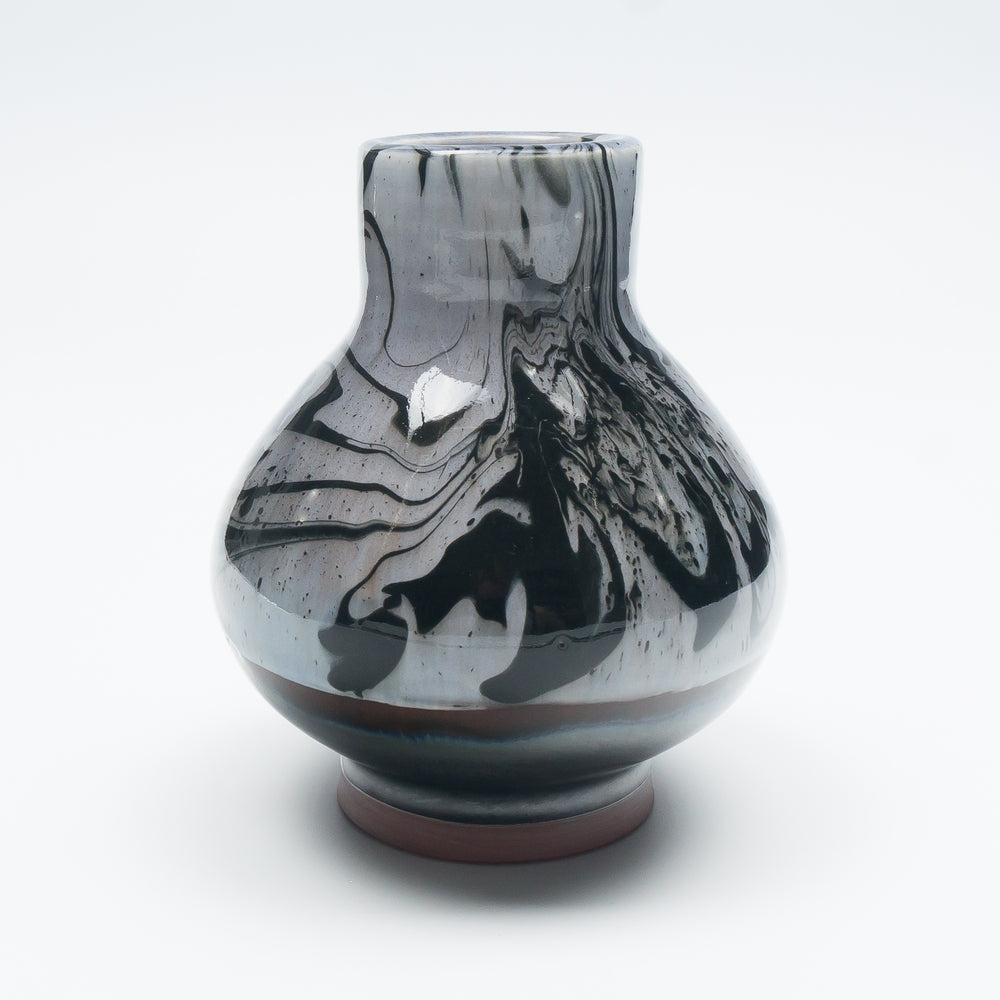 Midnight Marbleware  Vase