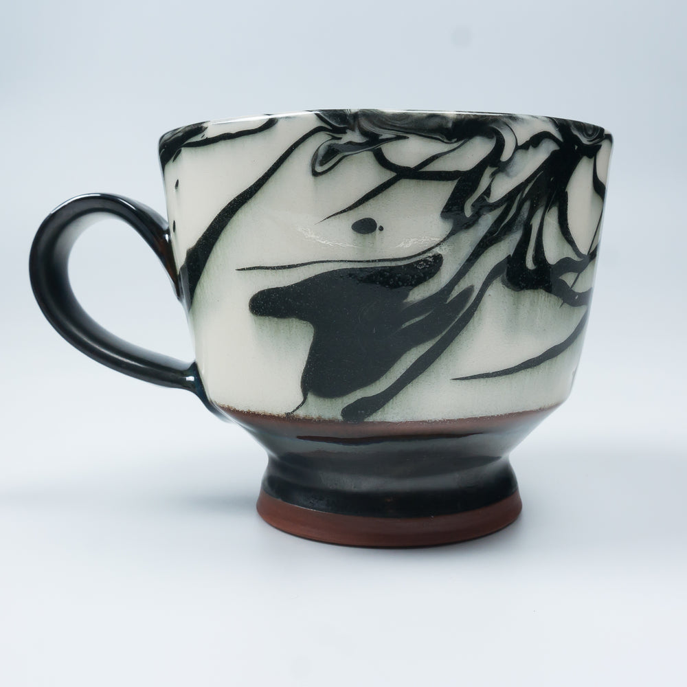Strap Handle Marbleware Cup