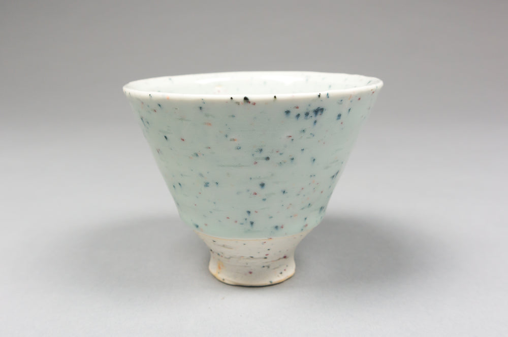 Confettiware porcelain tea bowl