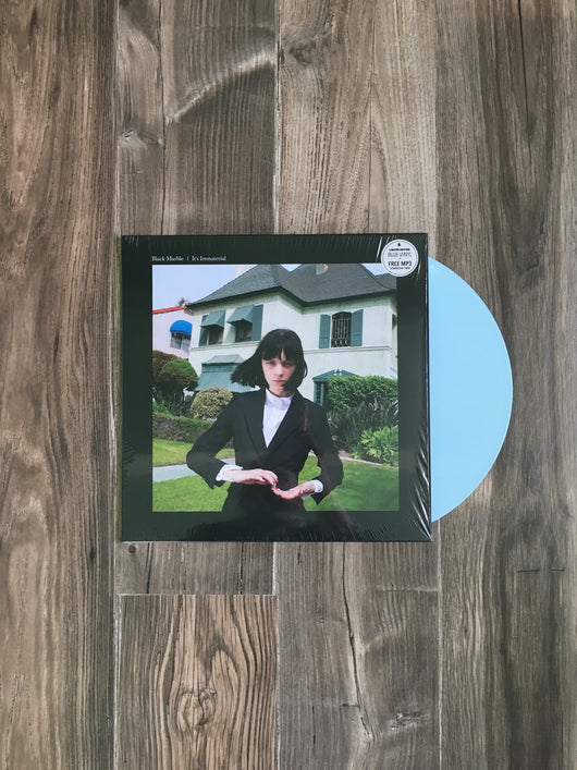 It's Immaterial LP by Black Marble (Blue Vinyl)