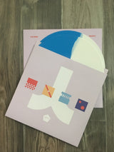 Iteration 2xLP by Com Truise (Blue/White Vinyl)