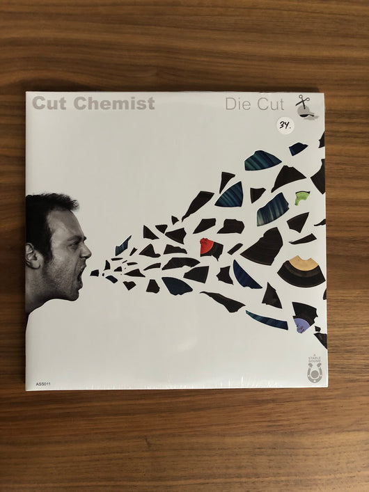 Die Cut 2xLP by Cut Chemist