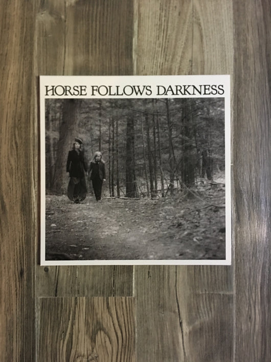 Horse Follows Darkness LP by Delia Gonzalez