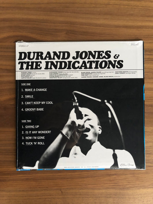 Durand Jones & the Indications LP by Durand Jones & the