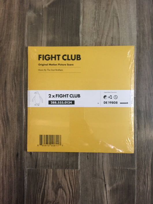Fight Club OST LP by The Dust Brothers (Pink Splatter 180g Vinyl)
