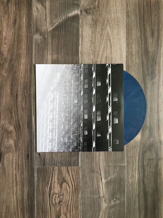 The Hecks LP by The Hecks (Blue Marbled Vinyl)