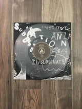 Subordination LP by Institute (Clear Vinyl)