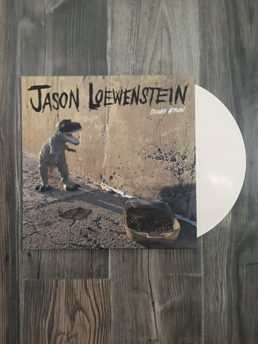 Spooky Action LP by Jason Loewenstein (Bone Vinyl)