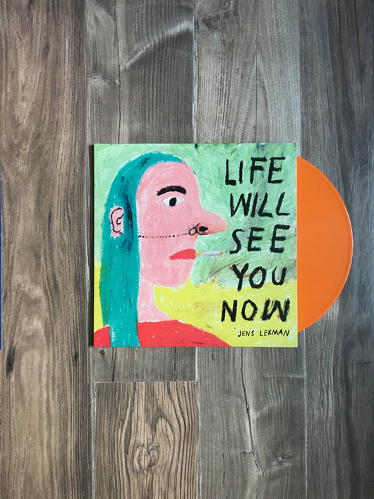 Life Will See You Now LP by Jens Lekman (Orange Vinyl)