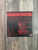 Murder of the Universe LP by King Gizzard and the Lizard Wizard (Green with Olive and Mustard Splatter Vinyl)