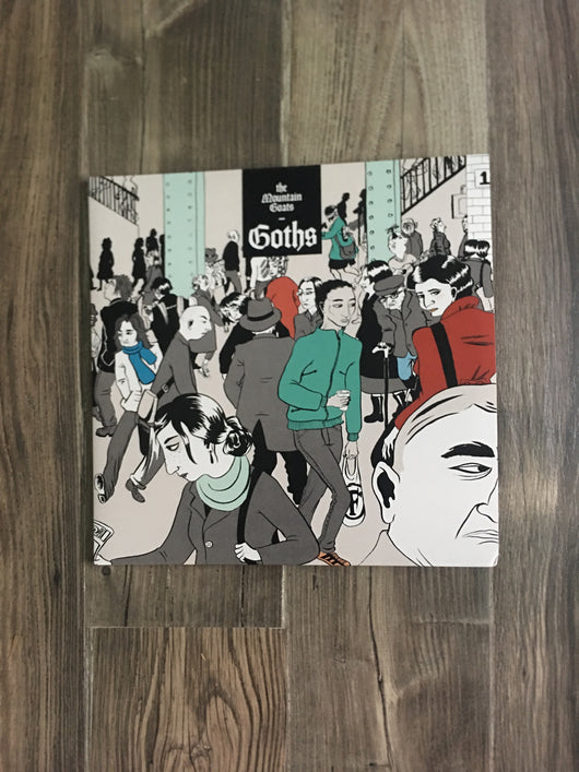 Goths 3xLP by The Mountain Goats (Ltd Edition Red and Green Vinyl)