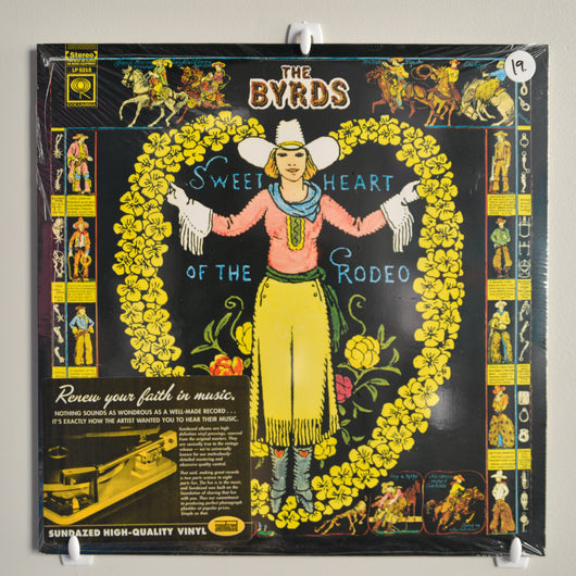 The Byrds - Sweetheart of the Rodeo LP