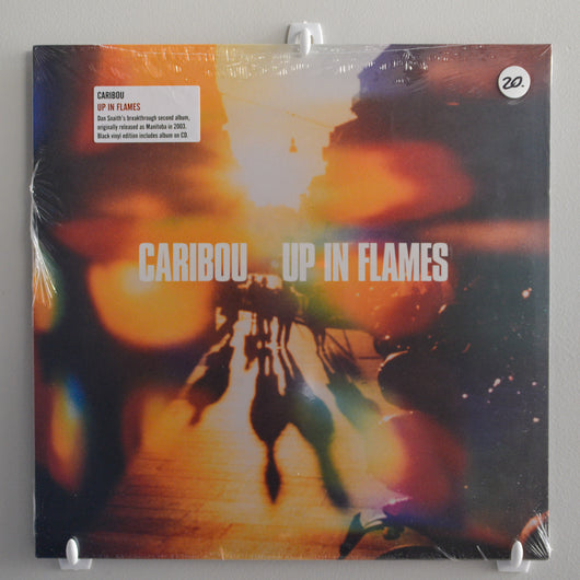 Caribou (was Manitoba) - Up in Flames LP+CD