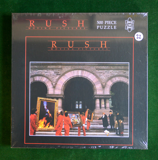 Rush - Moving Pictures PUZZLE