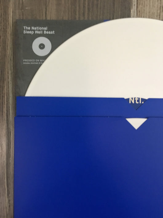 Sleep Well Beast 2xLP by The National (White Vinyl)