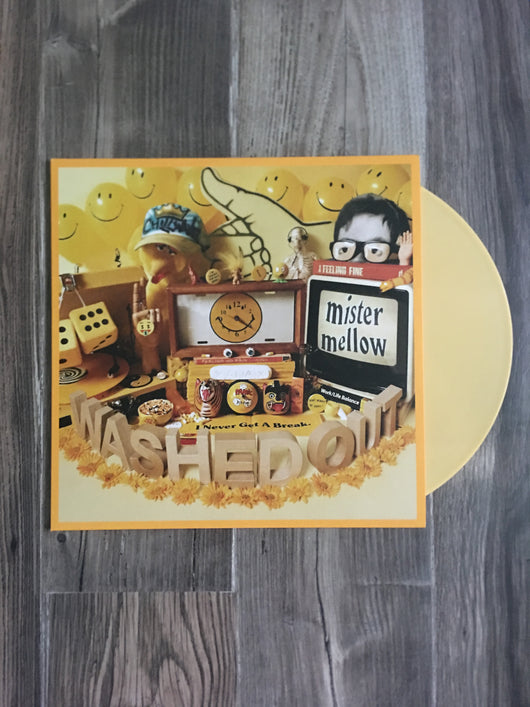 Mister Mellow LP by Washed Out (Yellow Vinyl)