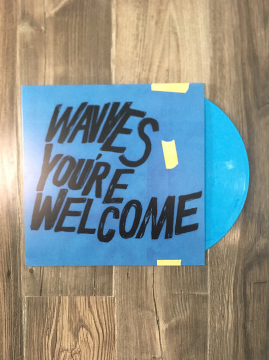 You're Welcome LP by Wavves (Blue Vinyl)