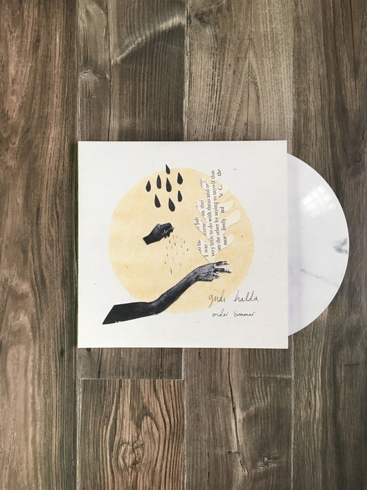 Under Summer 2xLP by yndi halda (Cookies and Cream Vinyl)