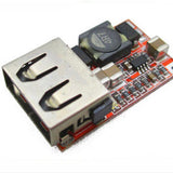 Step-down 6 - 24V in to USB 5V/3A out DC-DC Buck converter