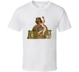 Dennis Eckersley Oakland Baseball Legend Retro Caricature T Shirt