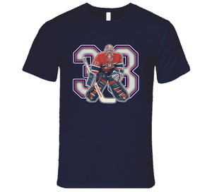 Partick Roy Montreal Hockey Legend Retro Sports T Shirt