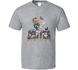 Anthony Carter Ac Minnesota Football Distressed Retro Caricature T Shirt