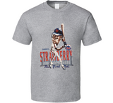 Darryl Strawberry New York Retro Baseball Legend Caricature T Shirt