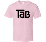 Tab Cola Light Pink Retro Cola Beverage 80s T Shirt