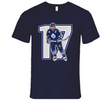 Wendel Clark Toronto Hockey Legend Retro Sports T Shirt