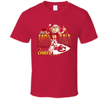 Joe Montana KC Football Retro Caricature T Shirt