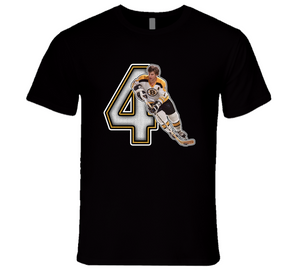 Bobby Orr Boston Retro Hockey Legend T Shirt