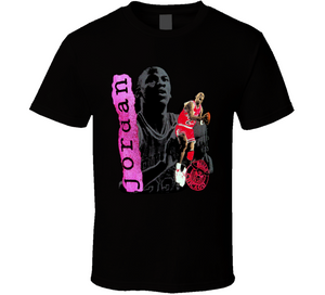 Michael Jordan Chicago Retro Basketball T Shirt