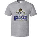 Herschel Walker Minnesota Football Retro Caricature T Shirt