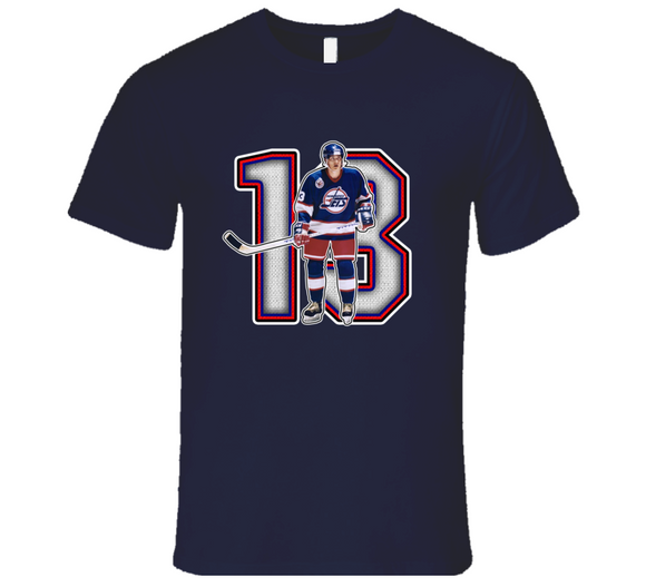 Teemu Selanne Winnipeg Retro Hockey Legend T Shirt
