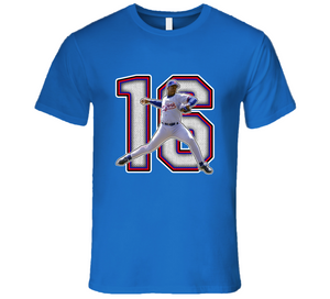Doc Gooden New York Baseball Legend Retro T Shirt
