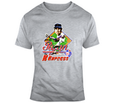 Nolan Ryan The K Express Baseball Texas Distressed Retro Caricature T Shirt