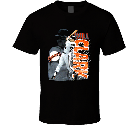 Will Clark San Francisco Legend Retro Baseball T Shirt