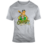 Jose Canseco Baseball 40 40 Oakland Distressed Retro Caricature T Shirt