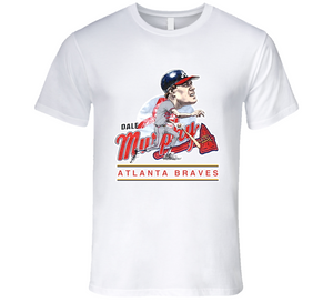Dale Murphy Retro Atlanta Baseball Mvp Retro T Shirt