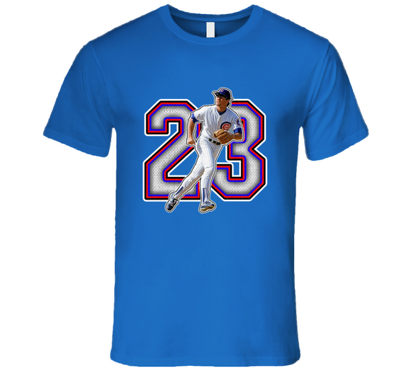 Ryne Sandberg Chicago Baseball Legend Retro T Shirt